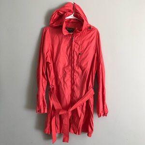 Eddie Bauer BRIGHT PINK Rain Jacket